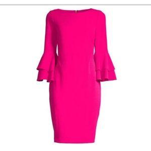 💓 Georgeous Calvin Klein pink lipstick dress